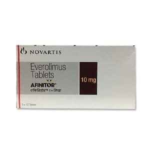 Afinitor 10 mg Tablets Price