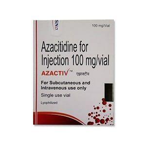 Azactiv 100mg Injection Price