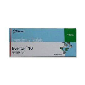 Evertor 10mg Tablets Price