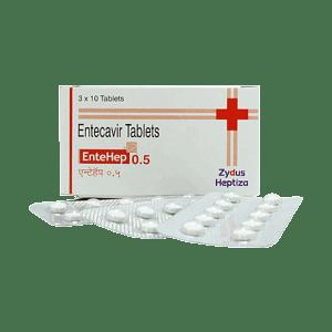 Entehep 0.5mg Tablets Price