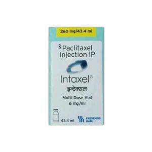 Intaxel 260mg Injection Price
