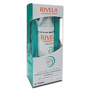 Rivela SPF 50 Sunscreen Lotion Price