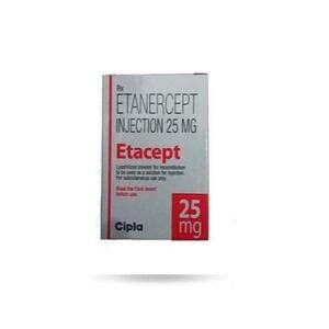 Etacept 25mg Injection Price