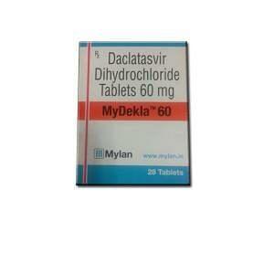 MyDekla 60 mg Tablets Price