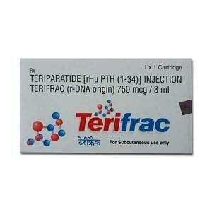 Terifrac 750mcg Injection Price