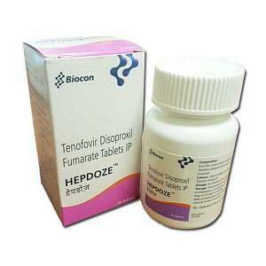 Hepdoze 300mg Tablets Price