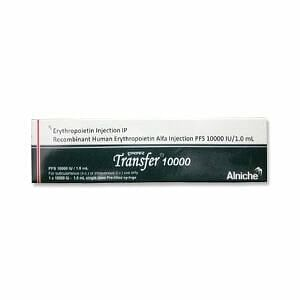 Transfer 10000Iu Injection Price
