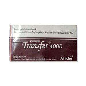 Transfer 4000 Iu Injection Price